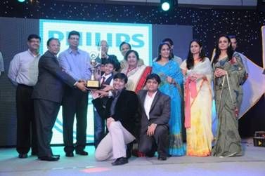 Philips Lighting Highest Sales Award in India