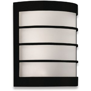 17173 wall lantern Black EWS301